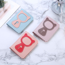 Wallets Purse Women Mini Cat Cute Cartoon Credit ID Card Holder Girls Small Purses Wallet 2020 New Fashion 2 Flods