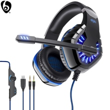 OVLENG GT81 Wired Gaming Headset E-Sports with Microphone LED Stereo Surround HiFi Headphone for PC Laptop Gamer cheap Dynamic CN(Origin) 110dB None 100mW For Internet Bar for Video Game Common Headphone Kids Headphones Line Type up to 32 Ω