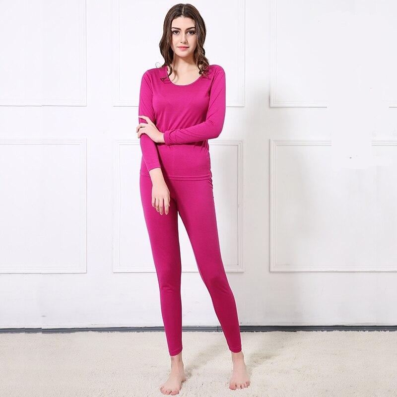 70% Silk 30% Cotton Women's Warm Thermal Underwear Long Johns Set M L XL TG381