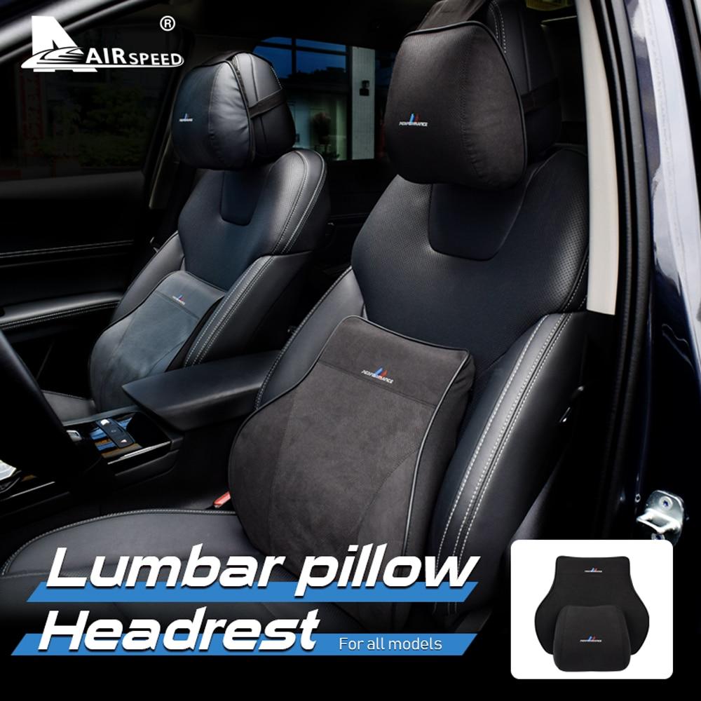 Car Seat Head Pillow Neck Rest Headrest for BMW ///M 1 2 3 4 5 6 Series X1 X2 X3 X4 X5 X6 X7 E92 E90 F30 F10 G20 G30 Accesories