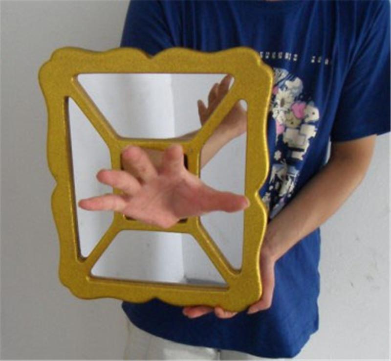Arm Through Glass, Hand & Dove Thru Mirror Magic Tricks Stage Magic Illusions Street Magic Gimmicks Easy Magic