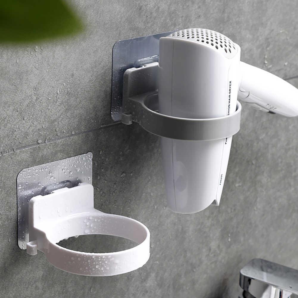 Duurzaam Badkamer Muur Gemonteerde Elektrische Föhn Houder Magazijnstelling lichtgewicht anti-roest ABS Plank Organisator