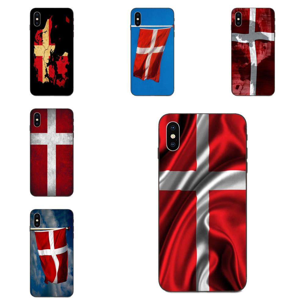 Danmark Flag Art Hot Printed Cool Phone Case For Xiaomi Redmi Note 3 3S 4 4A 4X 5 5A 6 6A 7 7A K20 Plus Pro S2 Y2 Y3