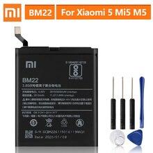 Batteria di Ricambio originale Per XiaoMi 5 Mi5 M5 Prime BM22 Genuino Batteria Del Telefono 3000mAh