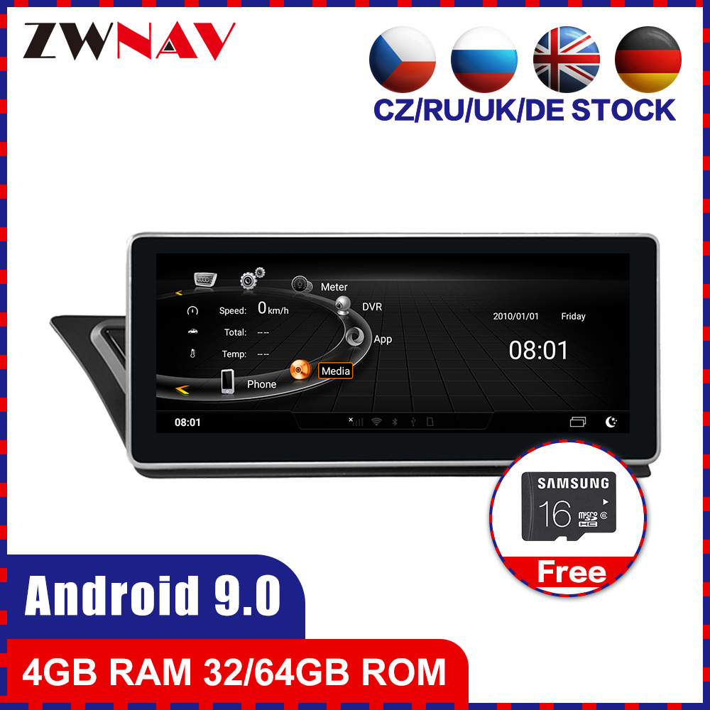 4+64 touch screen <font><b>Android</b></font> 9.0 Car multimedia Player GPS Audio for <font><b>Audi</b></font> <font><b>A4</b></font> for <font><b>Audi</b></font> A5 2009-2015 <font><b>radio</b></font> video stereo wifi free map image