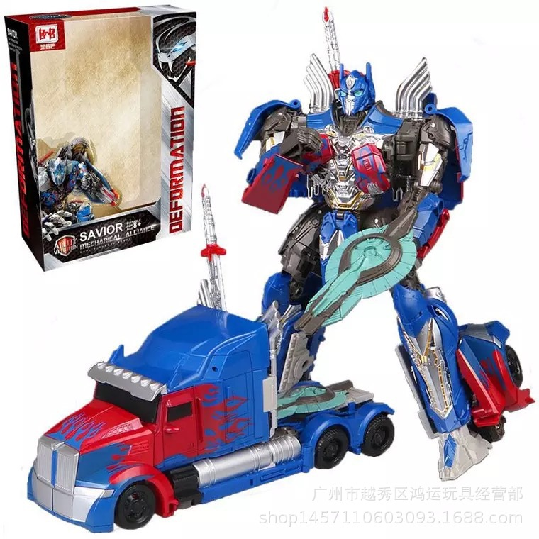 Black Mamba H6001-1 Giant Ares Alloy Version Of Car Robot Models Transformation 5 Toy Jingang New Products Men's