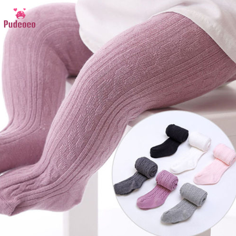 Pudcoco Baby Girl Cothes Winter Toddler Newborn Clothing Cotton Warm Girl Tights Strech Leg Warmer Baby Stockings Kid Bebe Fille