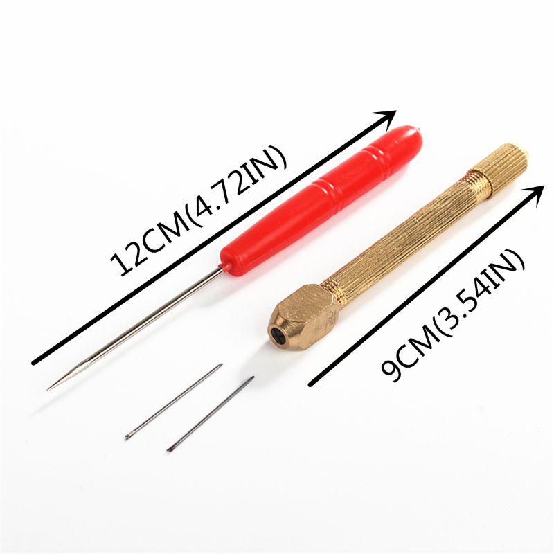 1set DIY Doll Hair Toll Set 0.6/0.8mm Doll Hair Rooting Reroot Rehair Tool C6UF