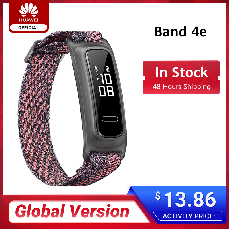 In stock Huawei Band 4e Basketball Wizard Smart Wristband with Two Wearing Modes and 14 Days Battery Life