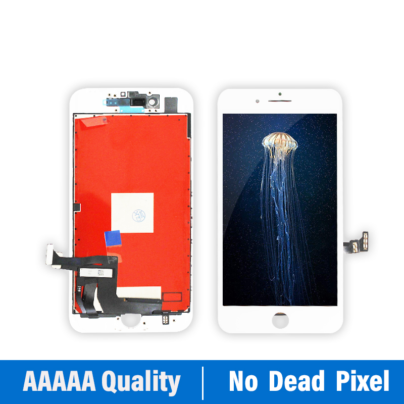Image 3 - White&Black Lifetime Assurance Quality AAAAA Brand New For iPhone 7 7G i7 4.7'' LCD Display Touch Screen Digitizer Assembly+Gift-in Mobile Phone LCD Screens from Cellphones & Telecommunications