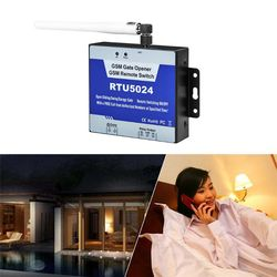 1 zestaw RTU5024 2/3G przekaźnik GSM SMS zadzwoń pilot otwieracz bramy system przełączania w Piloty do drzwi od Bezpieczeństwo i ochrona na