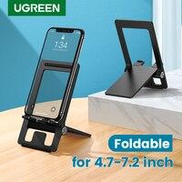 Ugreen-Soporte de escritorio ajustable para teléfono móvil, base plegable para iPhone 11 Pro Max XS XR 8 7