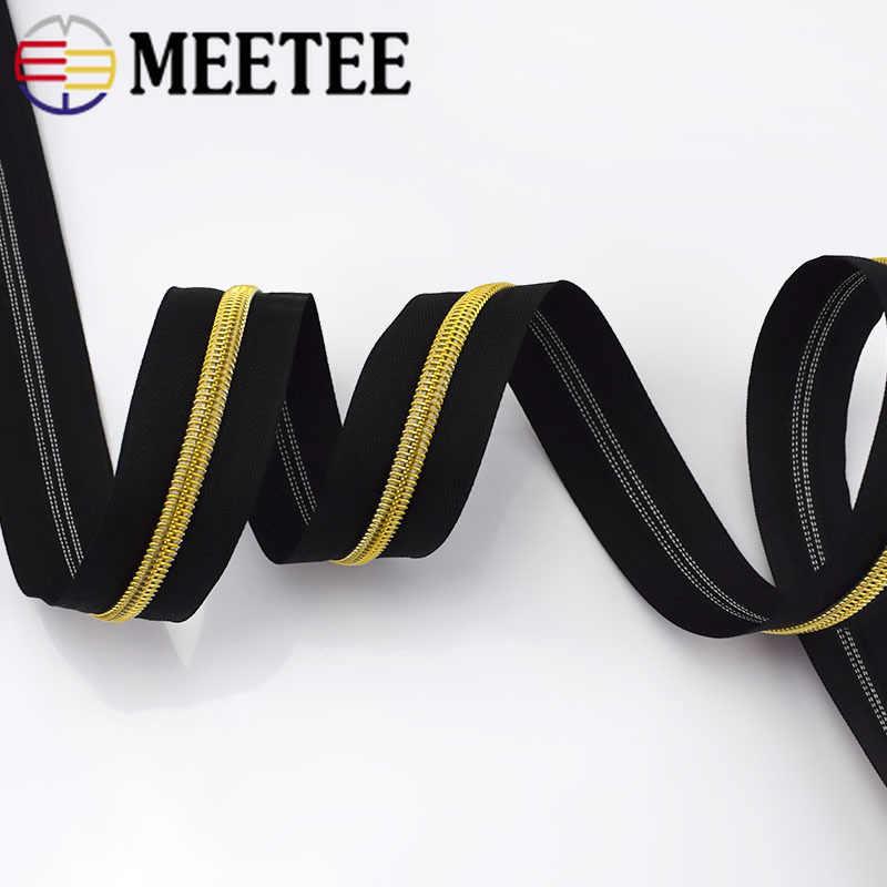 4 meter Neue 5 # Nylon-reißverschluss für Nähen DIY Zip Kleidung Open-end Kunststoff Zipper Sport Mantel Tasche garment Kleidung Zubehör
