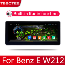 Car Android System 1080P IPS LCD Screen For Mercedes Benz E Class W212 2010~2016 Car Radio Player GPS Navigation BT WiFi AUX new original 6 5 inch lq065t5ar01 lq065t5ar03 lq065t5ar05 for mercedes benz car navigation system lcd screen display panel