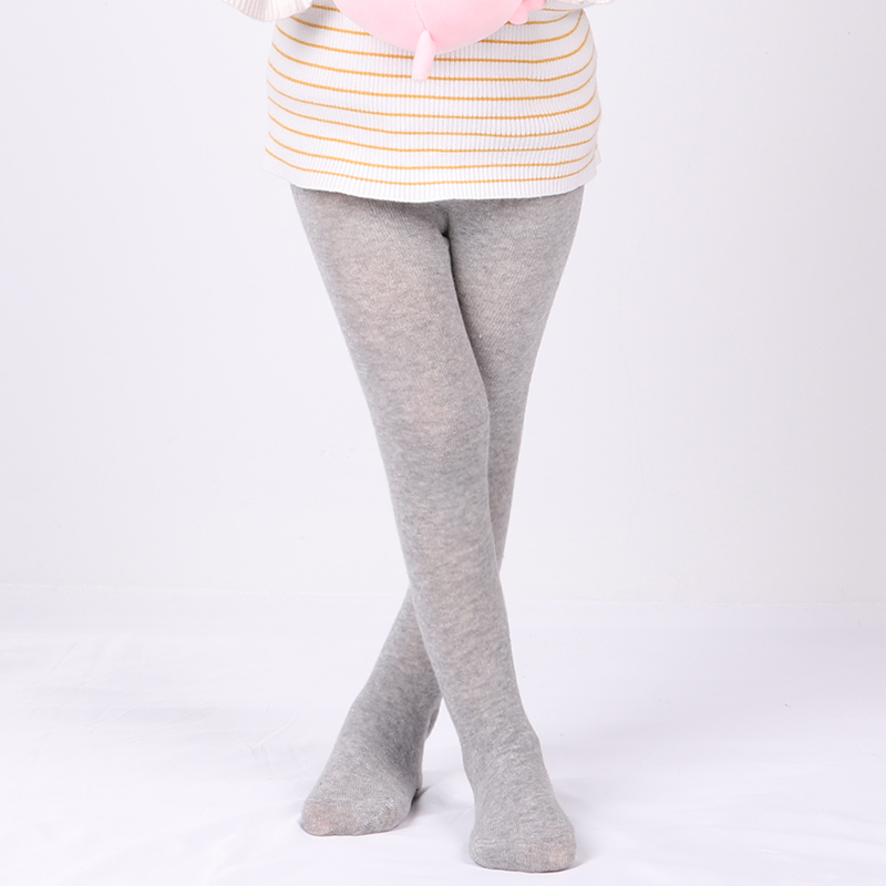 0-6 Years Baby Autumn Winter Tights Hot Baby Toddler Kid Girl Ribbed Stockings Cotton Warm Pantyhose Solid Candy Color Tight 5