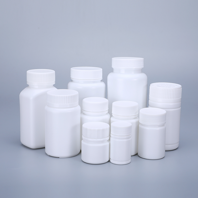 Empty Plastic Medicine Bottles With Screw Cap Pill Tablet Container 20ML,30ML,40ML,50ML,70ML,100ML,150ML,170ML,200ML