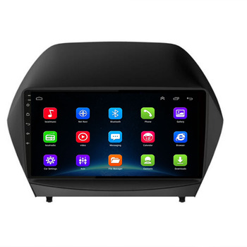 9 Android 10.0 2 Din 4G NET WIFI Car Radio For Hyundai Tucson 2 LM IX35 2011-2014 RDS DSP Multimedia Player GPS Navigation image
