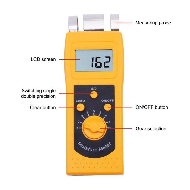 medição umidade medidor mudança portátil madeira ferramenta teste umidade