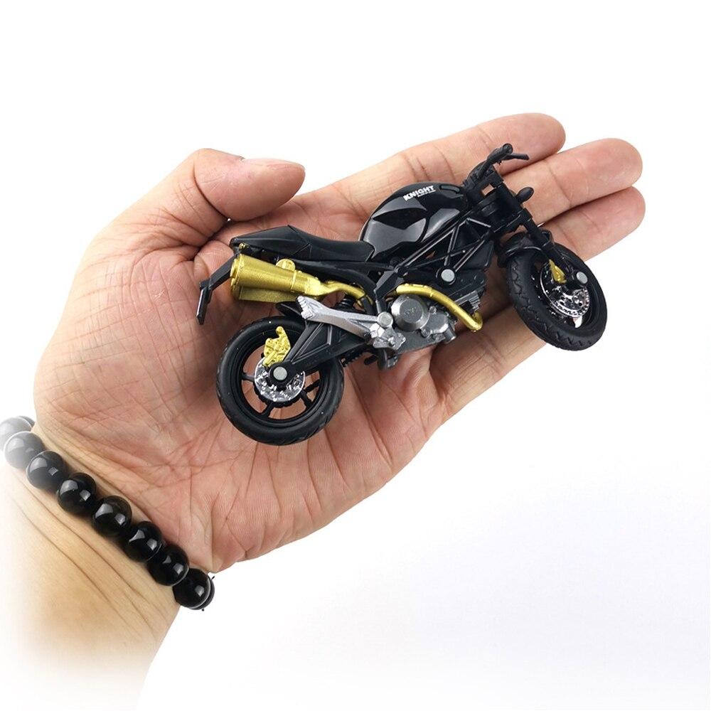 Modelo de motocicleta com escala 118, brinquedo, liga de plástico, veículo off-road, simulação de veículos, coleção de modelos de motocicleta, para crianças