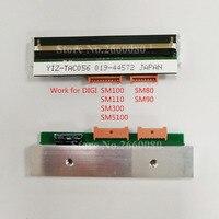 Cabeça de impressão térmica para digi sm100 sm100pces sm300 dois portos sm5100 sm5300 sm110 sm80 sm90 escala eletrônica p/n: zs44012490968800 thermal printhead digi sm-100 digi scale -