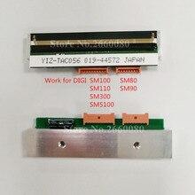 Termal baskı kafası DIGI SM100 SM100PCS SM300 iki Port baskı kafası SM5100 SM5300 SM110 SM80 SM90 ölçek P/N: ZS44012490968800