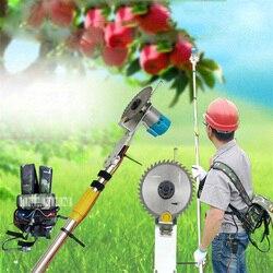Elektryczne nożyce do gałęzi nożyce do gałęzi gospodarstwa domowego High Branch Saw 1.2-3.6 metrów nożyce teleskopowe na dużych wysokościach 220V 12V 20A/40A