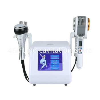 Slimming Machine 40K+Rf Cavitation Ultrasound Radio Frequency+Lipo Laser Slimming Beauty Machine