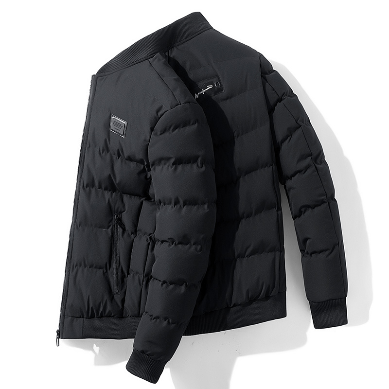 Popular Solid Color Warm Winter Jacket Men Fashion Trend Slim Fit Casual Mens Jacket And Coats M-4XL Veste Homme Chaqueta Hombre