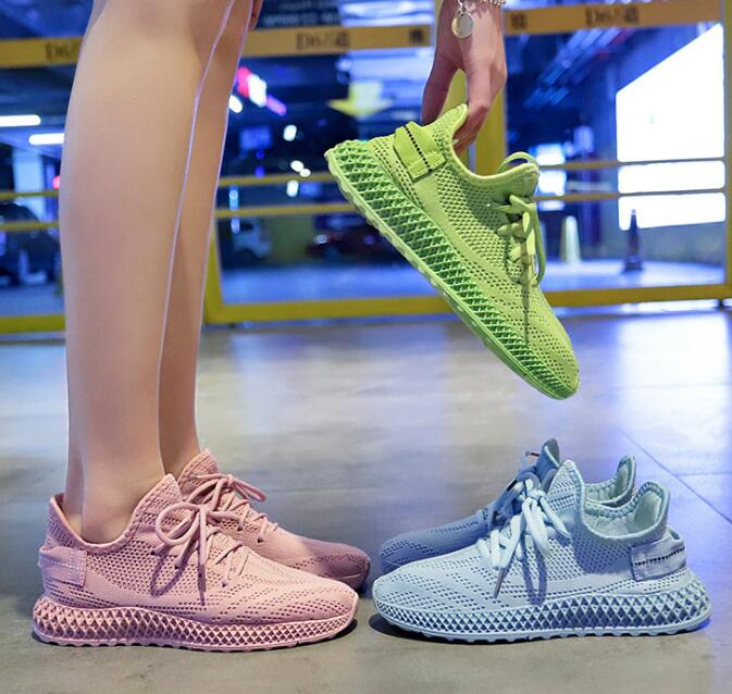 2020 women shoes sneakers sping summer new color casual sport walking shoes girl comfortable loafers 1