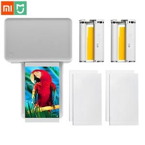 Image 1 - Xiaomi Mijia Mi Photo Printer 6 inch Heat Sublimation Finely Restore True Color Auto Multiple Wireless Remote Portable printer