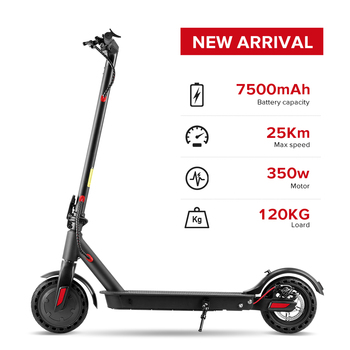 8.5 inch 350W Electric Scooter Adult Smart Folding Electric Hoverboard Electronic Brake LED Light patinete electrico 1