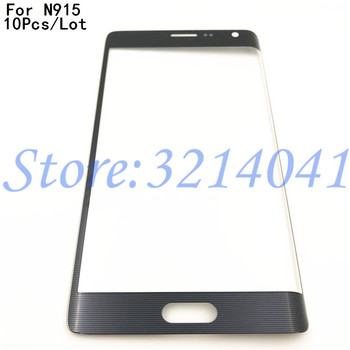 10Pcs Top Quality Screen Front Glass For Samsung Galaxy Note Edge N915 N915A N915D N915F N915G N9150 Touch Screen Outer Panel