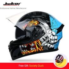 Full Face Motorcycle Helmet 2 Windshield Quick Release Lens Helmet Safe Helmet Casco Casque Motorbike Racing Helmet DOT Approved цена