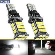2x Canbus T15 W16W żarówki LED światła cofania 3030 SMD samochodów LED tylna tylna lampa dla BMW serii 5 E60 E61 F10 F11 F07 Mini Cooper