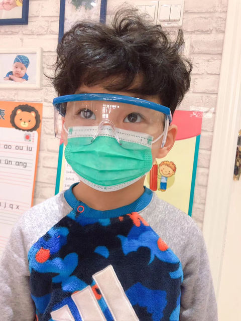 Profession Child Kids Boy Girl Medical Mask 100Pcs/Pack Surgical 3-Ply PM2.5 N95 Nonwoven Disposable Breathable Face Mask 1