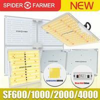 SF 1000W 2000W 4000W lleno espectro Led crecer luz araña granjero Samsung Lm301B Meanwell conductor quantum de planta de flor