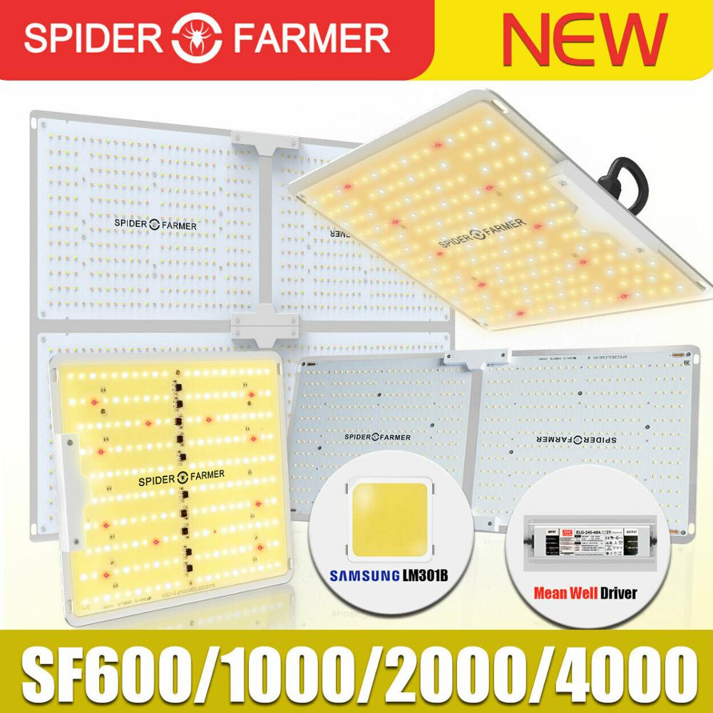 Sf 1000 w 2000 4000 espectro completo led crescer luz aranha agricultor samsung lm301b meanwell motorista placa quântica flor planta