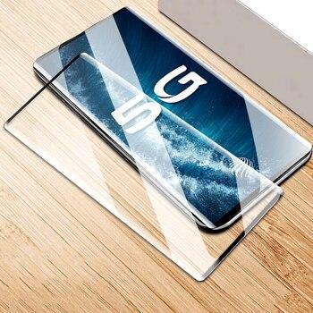 Перейти на Алиэкспресс и купить ДЛЯ vivo NEX 3 3S nex3 nex3s 5G 6,89 дюйм3D полное покрытие изогнутое закаленное стекло 9H Премиум Защитная пленка для экрана