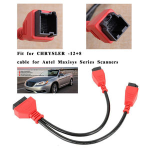Image 5 - For Chrysler programming cable 12+8 connector for Autel DS808 Maxisys MS905 906 908 PRO ELITE for chrysler 12+8 adapter