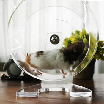 Acrylic Transparent Hamster Running Wheel Treadmill Wheel Running Wheel Running Wheel Pet Supplies 1