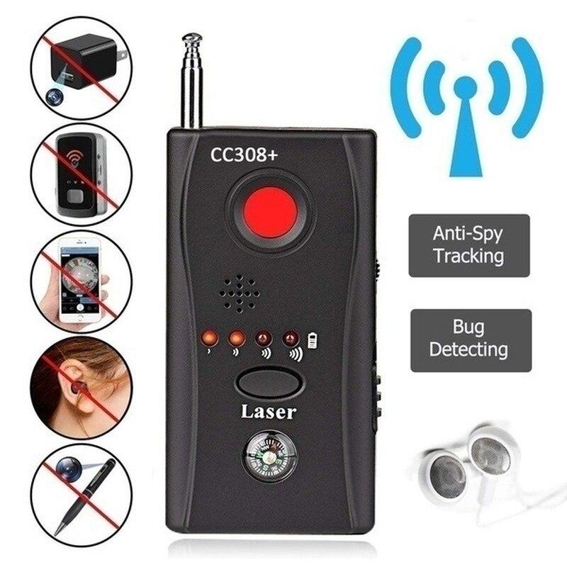 Lente de cámara inalámbrica multifunción, Detector de señal CC308 + GPS, cámara con Detector de micrófonos, WiFi RF de rango completo buscador de dispositivos GSM Dispositivo de crecimiento más grande del pene extensor de aumento del pene
