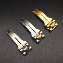En gros 10 pièces/lot en acier inoxydable montre boucle pièces de montre bandes de montre bracelets de montre 5mm x 10mm 8mm x 16mm nouveau