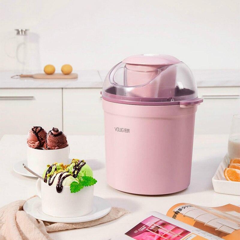 เครื่องทำไอศครีม เสี่ยวหมี่ Xiaomi Youpin YOULG 800ml Ice Cream Maker เครื่องทำไอติมอัตโนมัติ ถังเก็บความเย็นแช่ฟรีซ