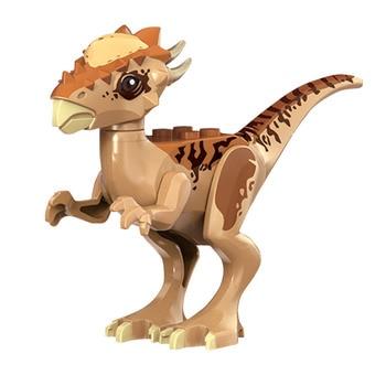 2 sets jurassic world tyrannosaurus building blocks jurrassic dinosaur figures bricks qunlong zoo toy for kids Jurassic Stygimoloch Breakout 75927 Dinosaur World 2 Park Set Building Blocks Bricks Toy For Kids