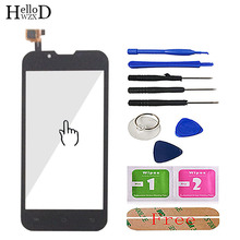Touch Screen For Azumi A50C Smartphone Front TouchGlass Touch Glass Touch Screen Digitizer Panel Lens Sensor Tools Adhesive
