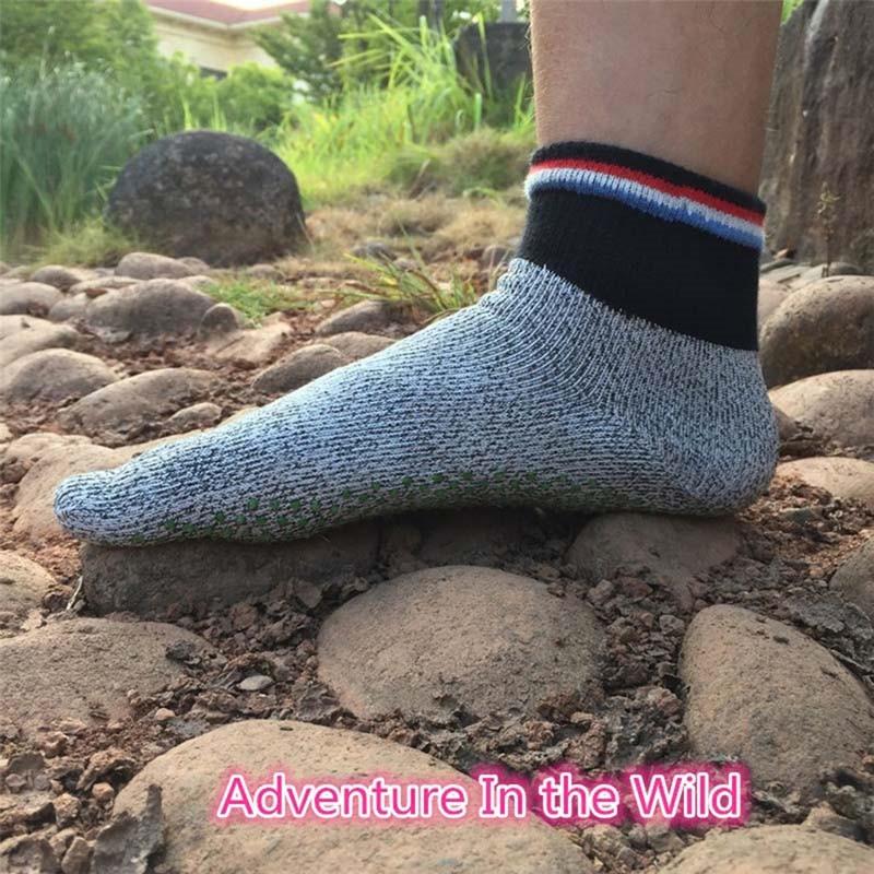 5 toe corte resistente meias não deslizamento