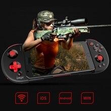 Ipega Pg 9087S חכם Bluetooth Gamepad משחק בקר Gamepad אלחוטי להארכה Tubro ג ויסטיק קונסולת משחק עבור טלוויזיה חכמה/Pho