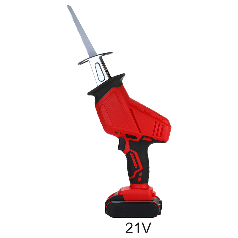 Rechargeable Electric Saw Cutting Wood Bamboo Tree Branch Pipes Sheet Metal LED Lights Power Handle Cutter Tools
