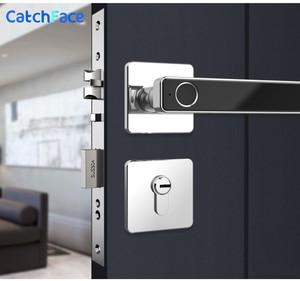 Image 1 - Биометрический Умный Замок с отпечатком пальца, цифровой БЕСКЛЮЧЕВОЙ электронный дверной замок, разблокировка по отпечатку пальца и ключу для домашнего офиса, безопасность