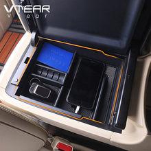 Vtear For Toyota ALPHARD VELLFIRE akcesoria pojemnik samochodowy konsola środkowa pojemnik do przechowywania taca paleta clapboard automobile